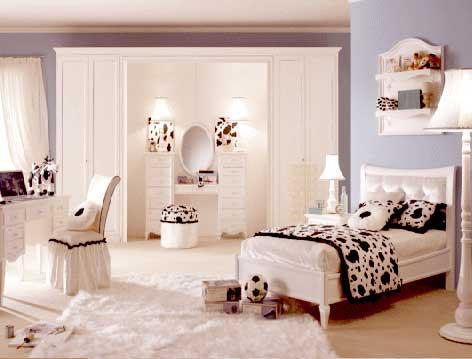 Фотографии интерьера комнаты для девушки