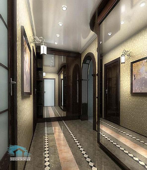 декор в интерьере коридора