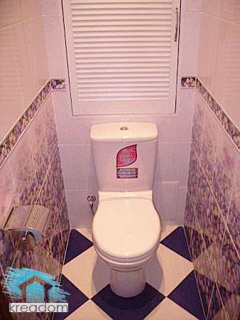 Дизайн туалета санузла
