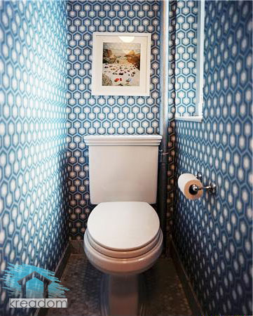 Дизайн туалета в квартире: обновляем