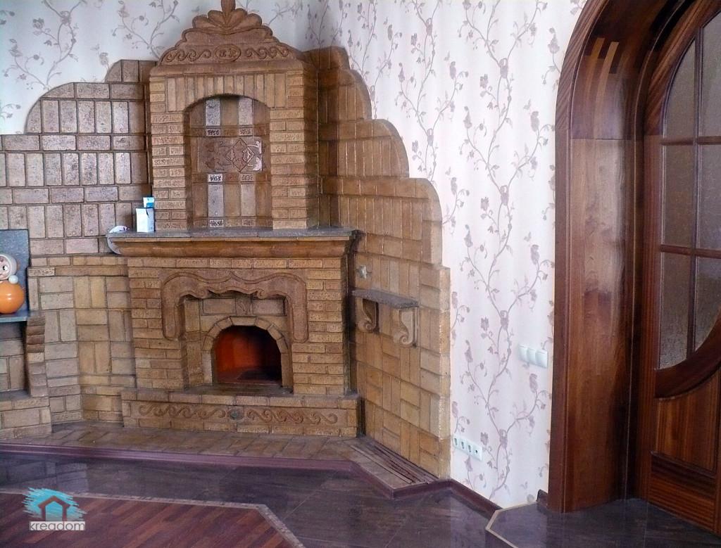камин в доме