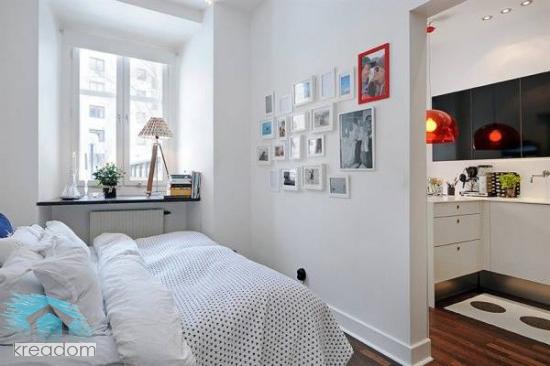 Спальня в двухкомнатной квартире