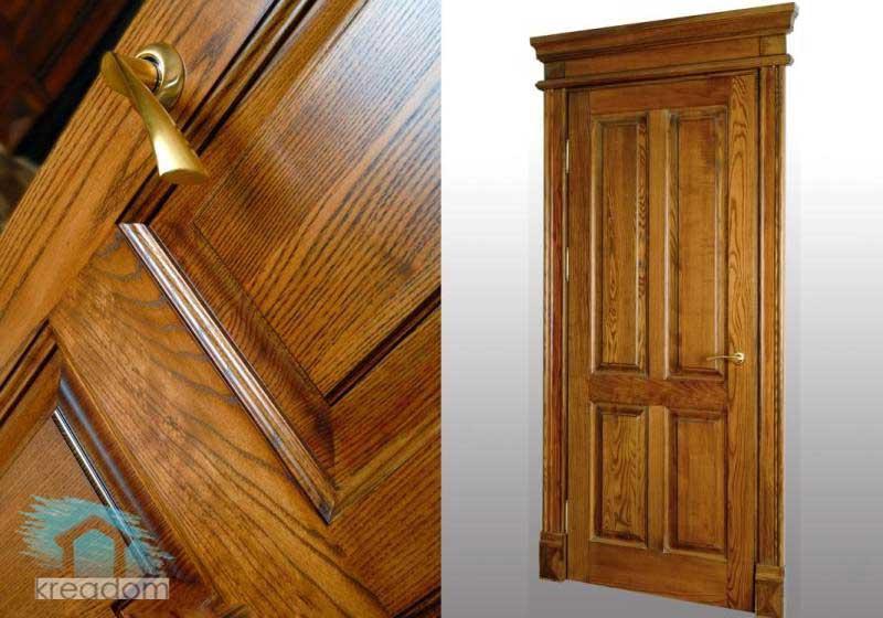 Самые дешевые двери из массива