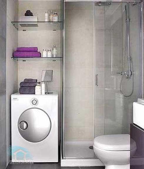 Ванная комната 3 кв.м дизайн фото с душевой кабиной