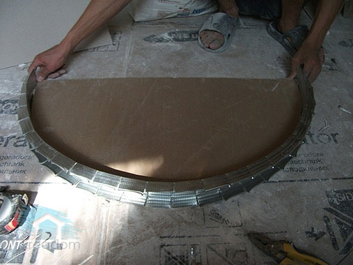 Фото арки из гипсокартона своими руками