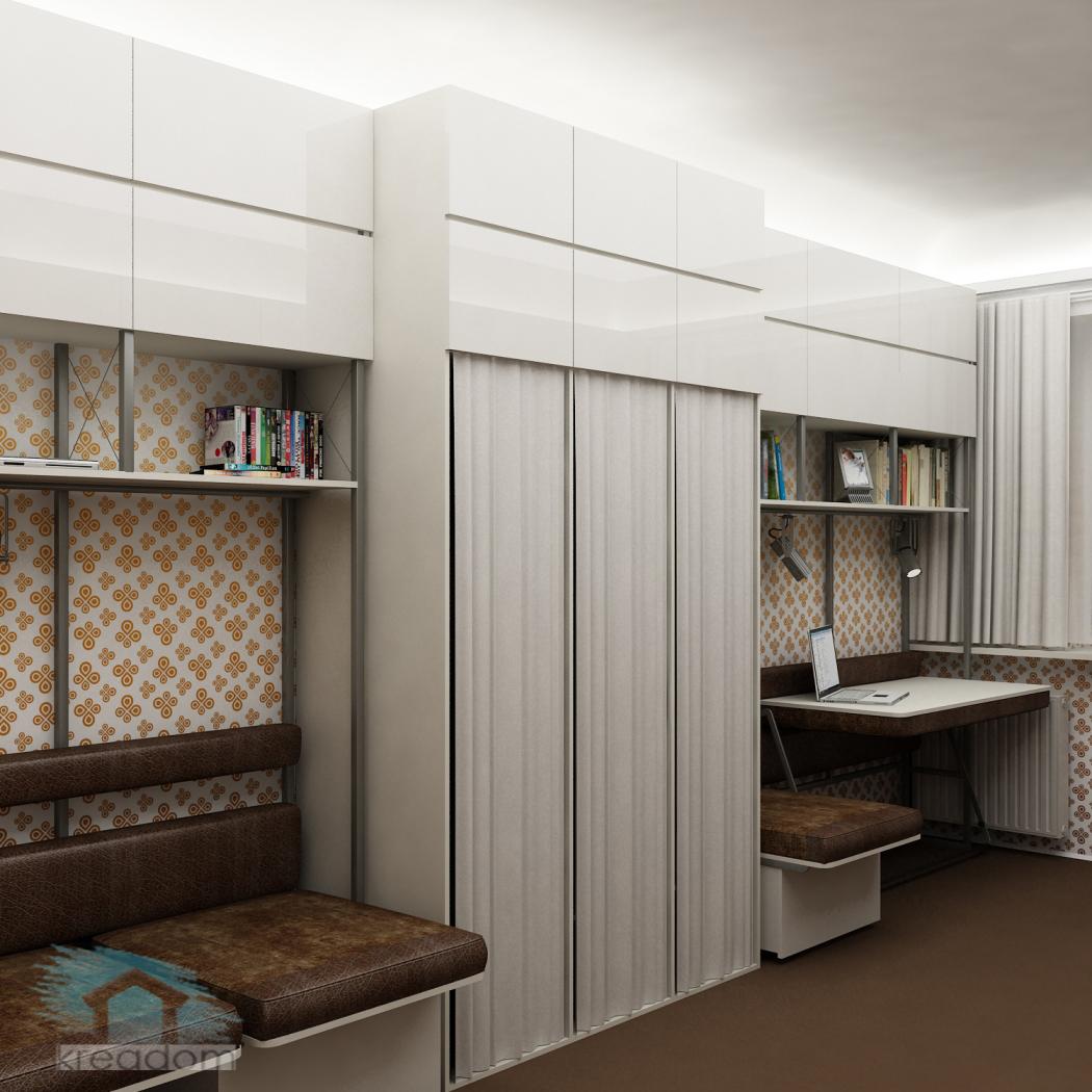 Дизайн проект в общежитии