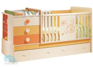 комбинированая кроватка