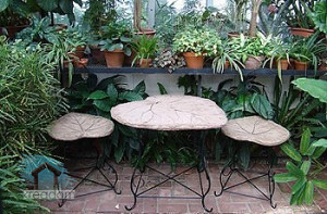 мебель в зимнем саду