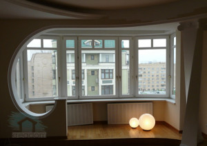 совмещение балкона с комнатой