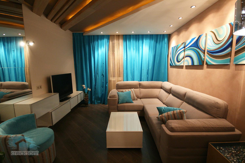 Дизайн комнаты в 16 квадратов