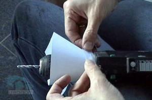 крепление бумажной воронки