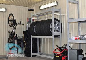 освещение автономное в гараже