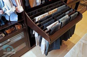 полка для хранения брюк