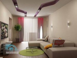 ремонт гостной комнаты