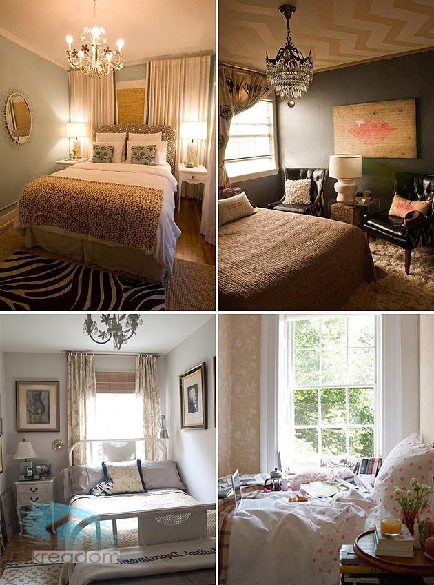 ремонт и дизайн маленькой спальни