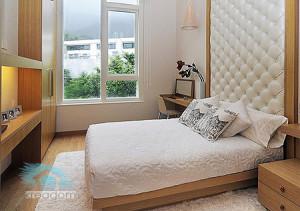 ремонт спальни в светлых тонах