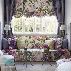 роль текстиля винтереье гостиной