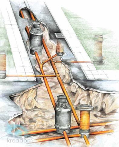 Polaganje zunanjih kanalizacijskih omrežij