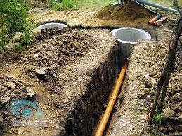 укладка наружной канализации