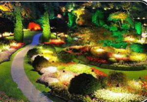 LED - освещение для ландшафта