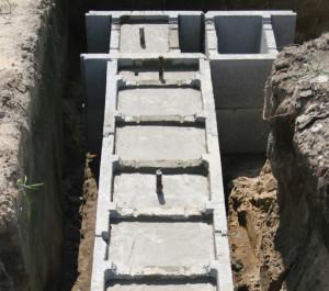 Несъемная бетонная опалубка