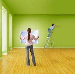 Step-by-step repair of housing
