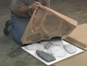 Процесс изготовления искусственного камня