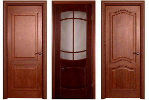 Шпонированные двери для ванной комнаты