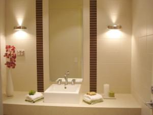 Правильное освещение ванной комнаты