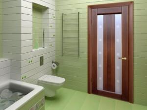 Установка дверей в ванну