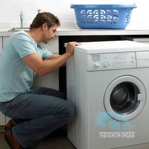 как правильно установить стиралку?