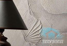 рельефное оштукатуривание стен