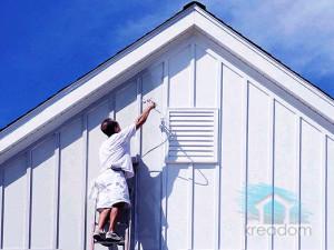краска для деревянного фасада дома