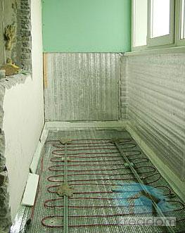 теплоизоляция балкона - лоджии