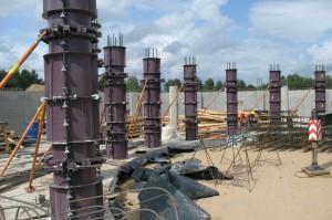 стальная опалубка круглых колонн
