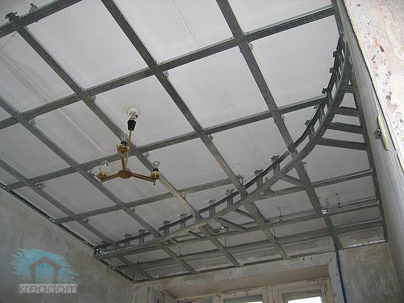 Схема дизайн потолков